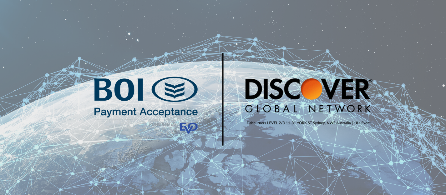 BOIPA and Discover Global Network partnership banner