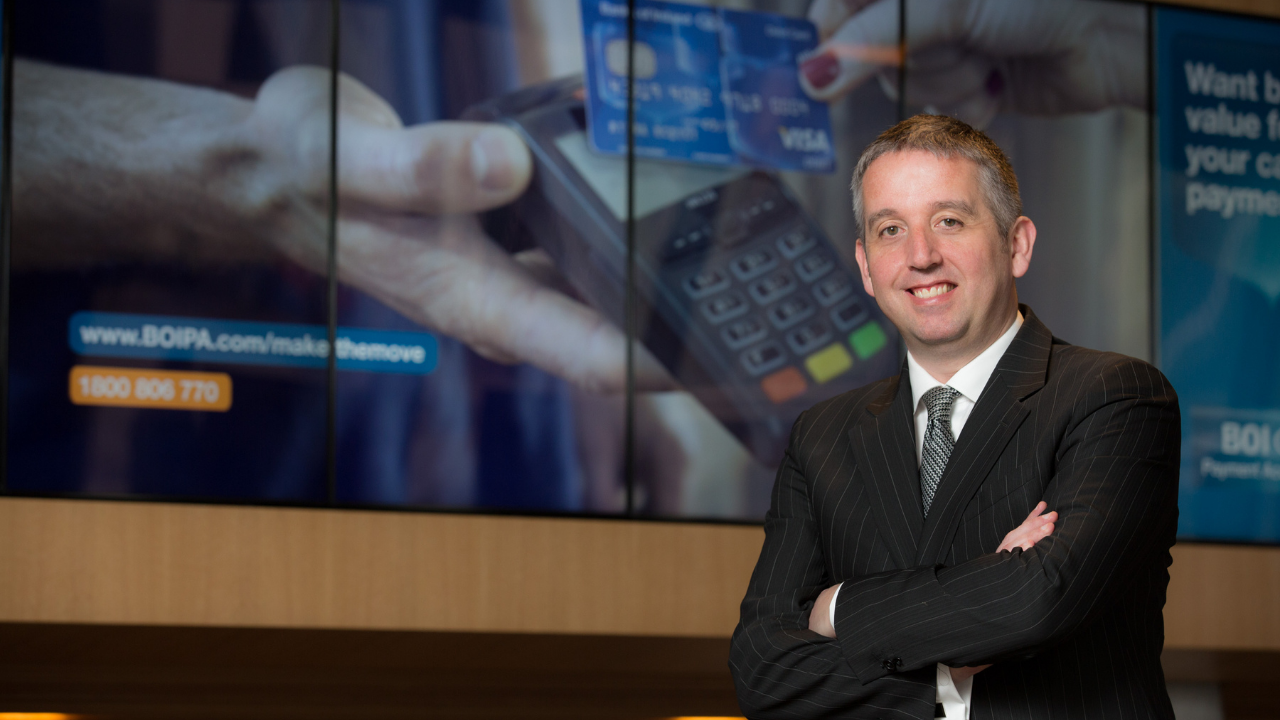 Brian Cleary, Managing Director of BOIPA