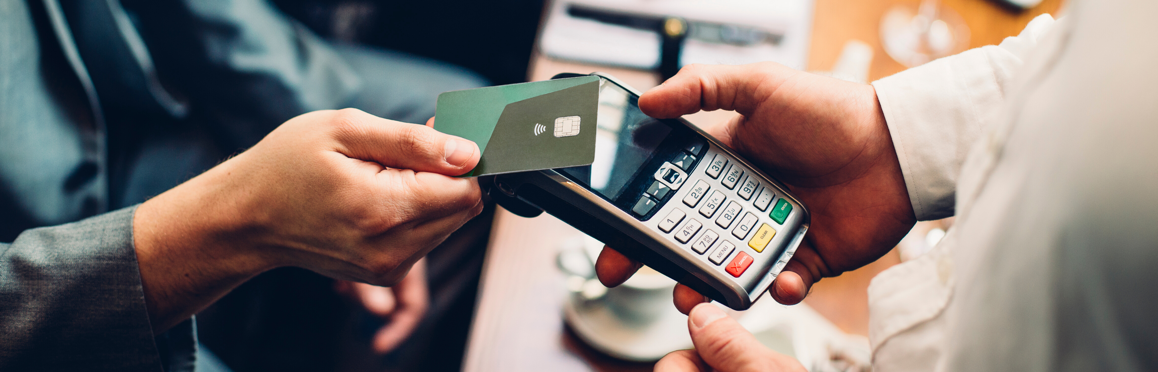 Using BOIPA's contactless card terminals to perform a payment through tap
