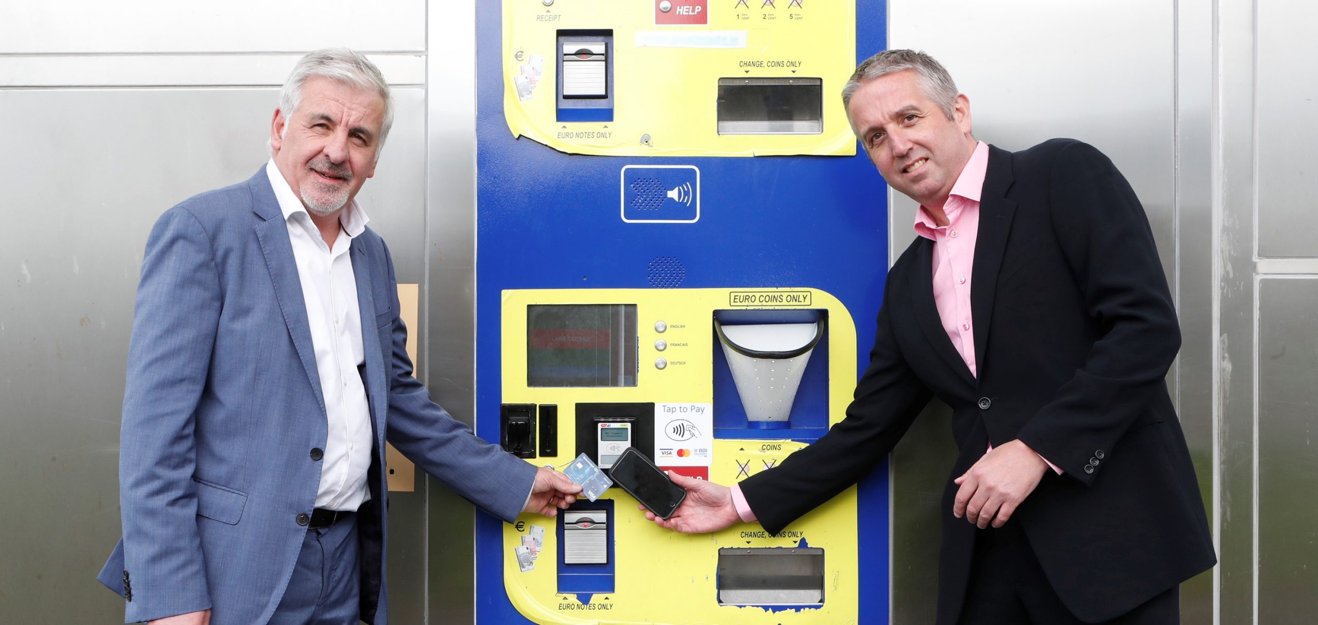 Declan Cahill, CEO of DirectRoute with Brian Cleary, Managing Director of BOIPA