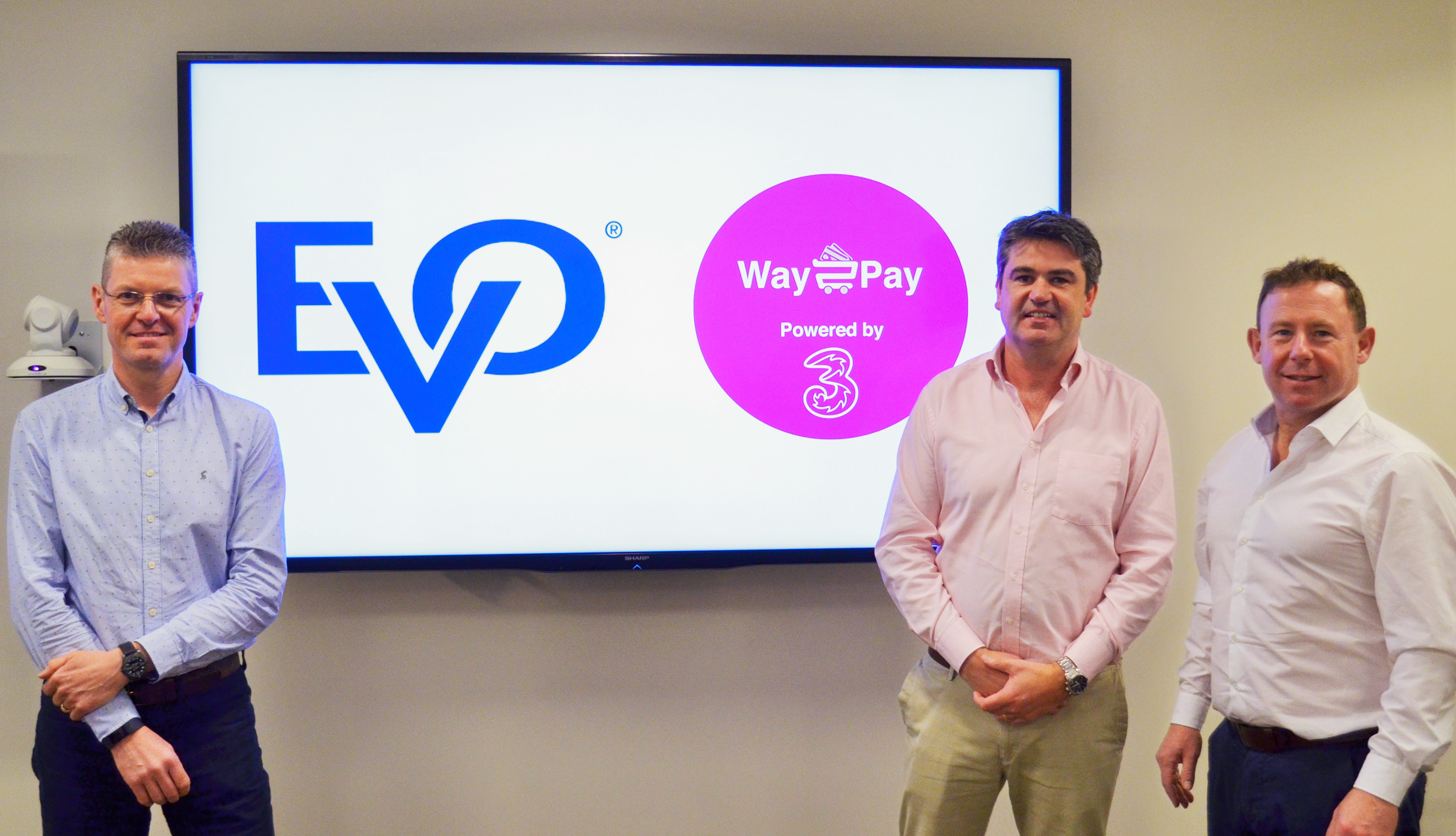 celebration of EVO acquisition of Way2Pay
