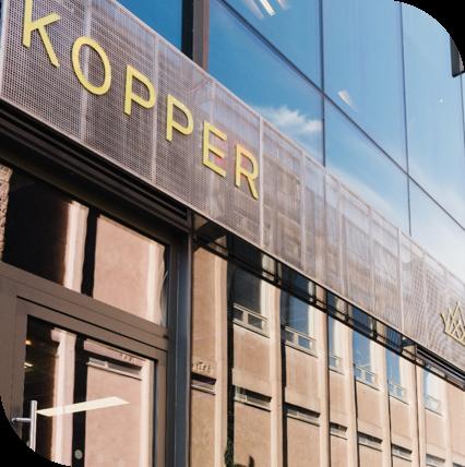the exterior of kopper hair salon